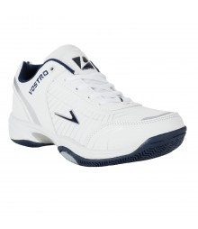Vostro White Navy Sports Shoes for Men - VSS0225